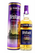 Benriach 15 Years Old Dark Rum Wood Finish